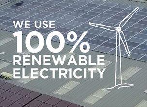 Neals Yard Remedies using renewable energy